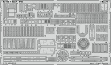 Lockheed Martin F-16C/N [Tamiya] · EDU 49930 ·  Eduard · 1:48