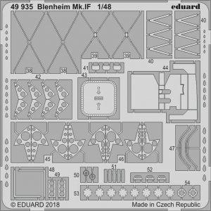 Bistol Blenheim Mk.IF [Airfix] · EDU 49935 ·  Eduard · 1:48