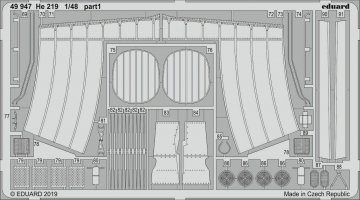 Heinkel He 219 [Tamiya] · EDU 49947 ·  Eduard · 1:48
