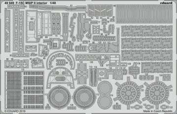 F-15C MSIP II - Interior [Great Wall Hobby] · EDU 49949 ·  Eduard · 1:48