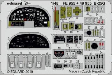 B-25G Mitchell - Interior [Italeri] · EDU 49955 ·  Eduard · 1:48