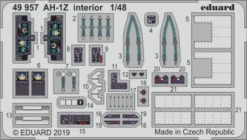 AH-1Z Viper - Interior [Kitty Hawk] · EDU 49957 ·  Eduard · 1:48