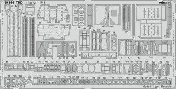 Douglas TBD-1 Devastator - Interior [Great Wall Hobby] · EDU 49966 ·  Eduard · 1:48