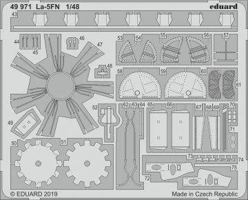 La-5FN [Zvezda] · EDU 49971 ·  Eduard · 1:48