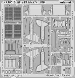 Spitfire FR Mk.XIV [Airfix] · EDU 49980 ·  Eduard · 1:48