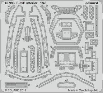 F-35B - Interior [Kitty Hawk] · EDU 49993 ·  Eduard · 1:48