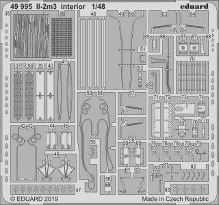 II-2m3 - Interior [Tamiya] · EDU 49995 ·  Eduard · 1:48