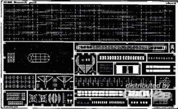 Schlachtschiff Bismarck  · EDU 53002 ·  Eduard · 1:350