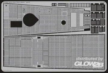 Gato class - Floor plates [Revell] · EDU 53028 ·  Eduard · 1:72
