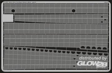 Gato class - Fuselage hinges plate, [Revell] · EDU 53029 ·  Eduard · 1:72