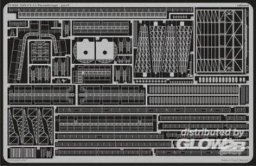 USS CV-14 Ticonderoga [Trumpeter] · EDU 53030 ·  Eduard · 1:350