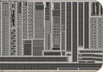 Bismarck railings and turrets [Revell] · EDU 53036 ·  Eduard · 1:350