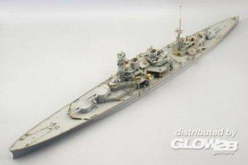 HMS Repulse [Trumpeter] · EDU 53046 ·  Eduard · 1:350