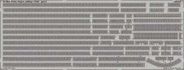 Prinz Eugen railings [Trumpeter] · EDU 53060 ·  Eduard · 1:350