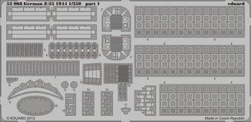 German Z-25 1944 [Trumpeter] · EDU 53068 ·  Eduard · 1:350