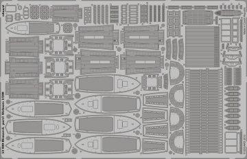 Bismarck - Part 1 - Lifeboats [Trumpeter] · EDU 53080 ·  Eduard · 1:200