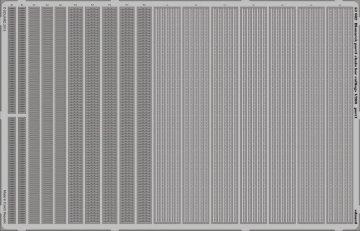 Bismarck - Part 3 - Chain bar railings [Trumpeter] · EDU 53082 ·  Eduard · 1:200