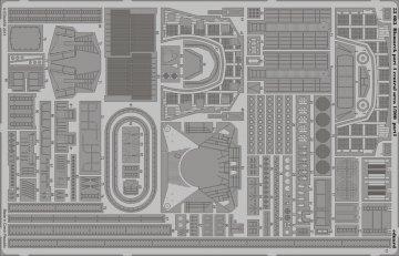 Bismarck - Part 4 - Central area [Trumpeter] · EDU 53083 ·  Eduard · 1:200