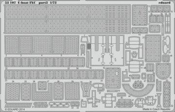U-Boot Typ IX C - Part 2 [Revell] · EDU 53107 ·  Eduard · 1:72