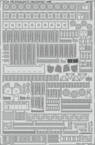 USS Arizona - Part 6 - Superstructure [Trumpeter] · EDU 53112 ·  Eduard · 1:200