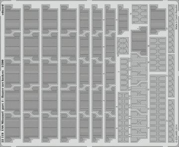 USS Missouri - Part 4 - Floater net baske [Trumpeter] · EDU 53119 ·  Eduard · 1:200