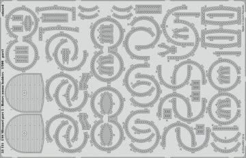 USS Missouri - Part 5 - Bofors ammo hold [Trumpeter] · EDU 53121 ·  Eduard · 1:200