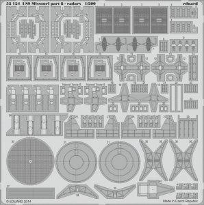 USS Missouri - Part 8 - Radars [Trumpeter] · EDU 53124 ·  Eduard · 1:200