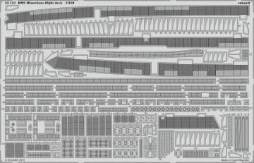 HMS Illustrious - Flight deck [Airfix] · EDU 53137 ·  Eduard · 1:350