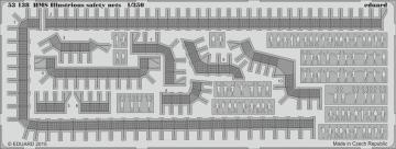 HMS Illustrious - Safety nets [Airfix] · EDU 53138 ·  Eduard · 1:350