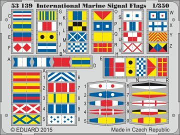 International Marine Signal Flags · EDU 53139 ·  Eduard · 1:350