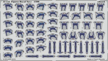 Figures Royal Navy · EDU 53144 ·  Eduard · 1:200