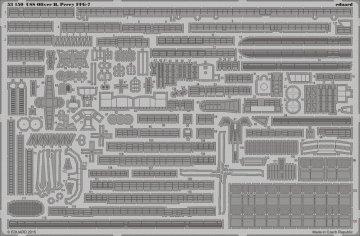 USS Oliver H.Perry FFG-7 [Academy] · EDU 53150 ·  Eduard · 1:350