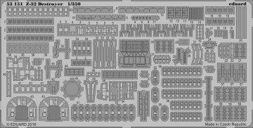 Deutscher Zerstörer Z-32 destroyer [Dragon] · EDU 53151 ·  Eduard · 1:350