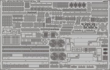 USS Iwo Jima LHD-7- Part I - Assault craft units [Trumpeter] · EDU 53181 ·  Eduard · 1:350