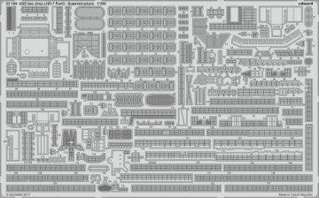 USS Iwo Jima LHD-7 Part 3 - Superstructure [Trumpeter] · EDU 53184 ·  Eduard · 1:350