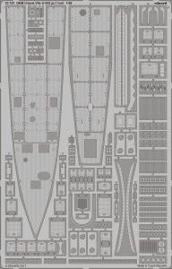 DKM U-Boot VII C U-552 - Part 1 - Hull [Trumpeter] · EDU 53191 ·  Eduard · 1:48