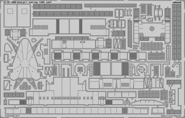 HMS Hood -  Pt.7 Main top [Trumpeter] · EDU 53197 ·  Eduard · 1:200