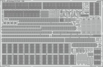 USS Saratoga CV-3 - Part 3 [Trumpeter] · EDU 53218 ·  Eduard · 1:350