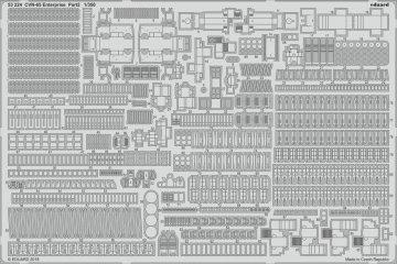 CVN-65 Enterprise - Part 2 [Tamiya] · EDU 53224 ·  Eduard · 1:350