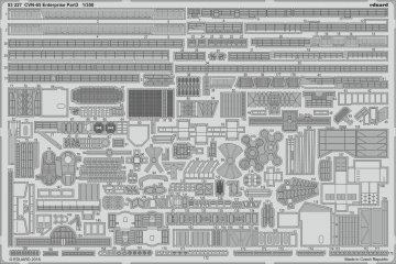 CVN-65 Enterprise - Pt.3 [Tamiya] · EDU 53227 ·  Eduard · 1:350