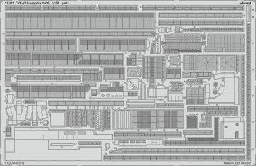 CVN-65 Enterprise - Part 5 [Tamiya] · EDU 53237 ·  Eduard · 1:350