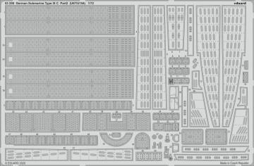German Submarine Type IX C  (U67/U154) - Part 2 [Revell] · EDU 53250 ·  Eduard · 1:72
