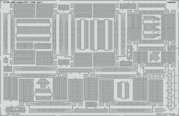 USS Langley CV-1 [Trumpeter] · EDU 53254 ·  Eduard · 1:350