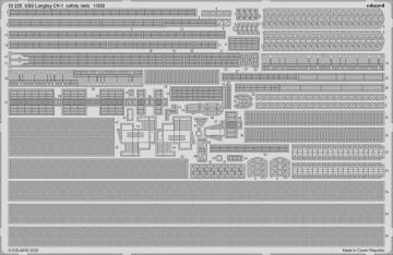 USS Langley CV-1 - Safety nets [Trumpeter] · EDU 53255 ·  Eduard · 1:350