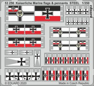 Kaiserlische Marine - Flags & pennants STEEL · EDU 53256 ·  Eduard · 1:350