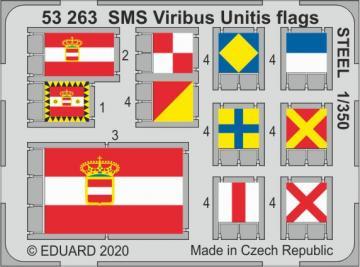 SMS Viribus Unitis - Flags STEEL [Trumpeter] · EDU 53263 ·  Eduard · 1:350