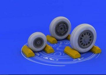 F-117A wheels for Trumpeter · EDU 632012 ·  Eduard · 1:32
