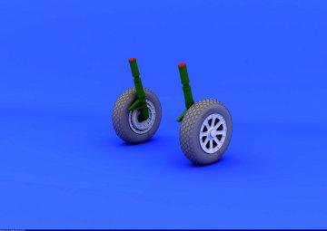 F4U-1 - Wheels [Tamiya] · EDU 632019 ·  Eduard · 1:32