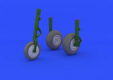 Messerschmitt Me 262 - Wheels [Trumpeter] · EDU 632031 ·  Eduard · 1:32