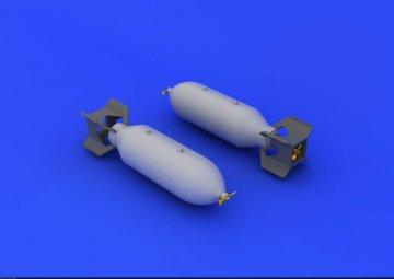 US 500Ib bombs · EDU 632037 ·  Eduard · 1:32